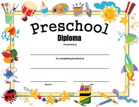 preschool diploma free printable allfreeprintable 355 | free printable preschool diploma