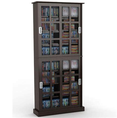 Dvd Closet Storage by Atlantic Windowpane 720 Cd Dvd Media Storage Cabinet In