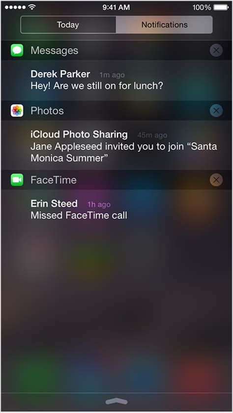 how to see notifications on iphone about notifications on iphone and ipod touch