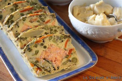 coin repas cuisine pas cher recette terrine de saumon aux légumes la cuisine