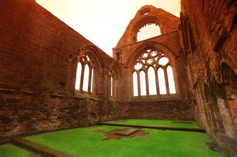 Sweetheart Abbey Stock Photo Image Of Castle Outdoor