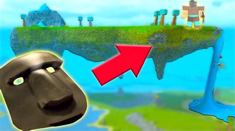 floating island defeating  god roblox