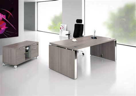 meuble de bureau bureau direction prestige pied ruban et table de