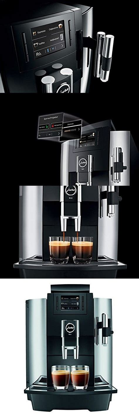 Jura's sophisticated, modern coffee makers may impress even the most discerning coffee drinkers. Jura WE8 Professional Automatic Coffee Machine (With images) | Automatic coffee machine, Coffee ...