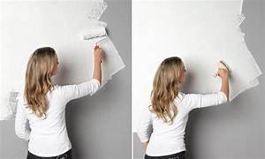 Wandgestaltung in Wisch Optik SCHÖNER WOHNEN Farbe