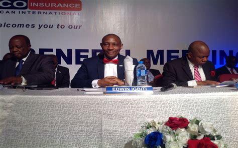Aiico insurance plc (nse ticker: AIICO Insurance Plc declares 6 kobo dividend for FY 2018