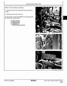 John Deere 5410 Tractor Service Repair Manual