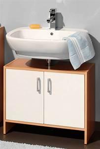 Meuble Sous Lavabo But : meuble sous lavabo solo hetre blanc ~ Dode.kayakingforconservation.com Idées de Décoration