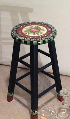 handmade  hand painted custom  top wooden bar