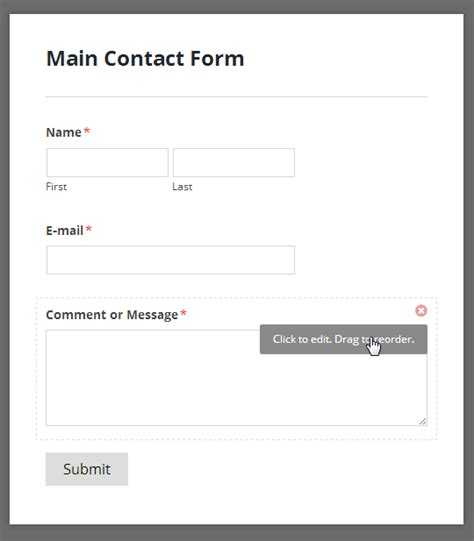 Contact Form Template Wpforms Review A New Drag And Drop Contact Form Builder