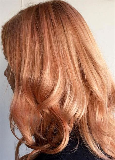 Gold Hair Colour by 65 Gold Hair Color Ideas Instagram S Trend
