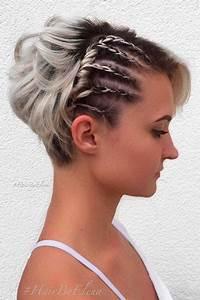 33 Beautiful Short Braiding Styles 2017 Short Hairstyles