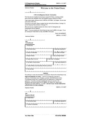 2000 form cbp i 94 fill printable fillable blank