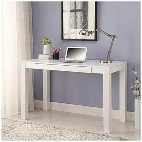 parsons white finish 48 quot desk big lots