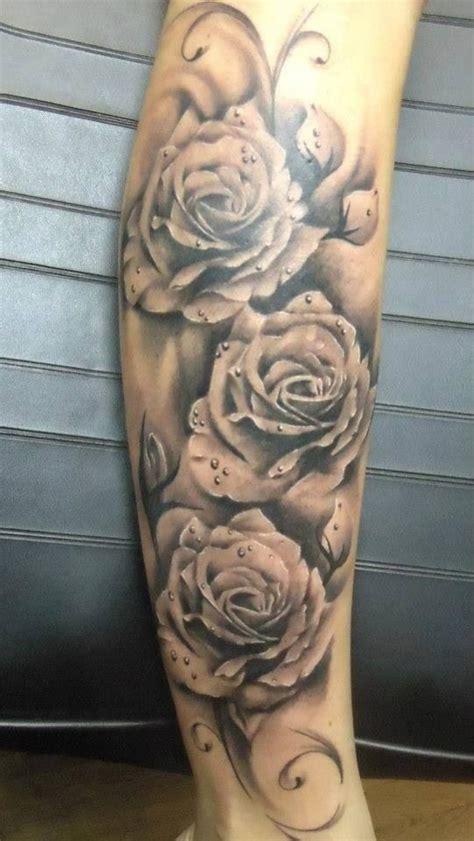 tatouage avant bras rose modeles  exemples