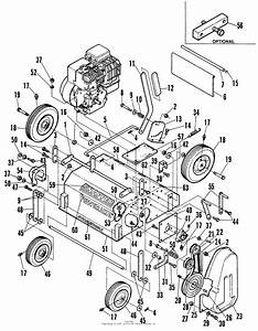 Snapper Pr5001 17 U0026quot  5 Hp Power Rake Series 1 Parts Diagram