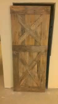 Barn Door Made From Pallets