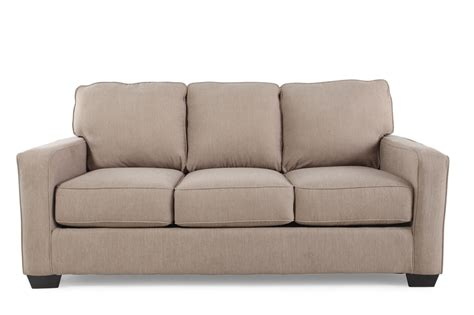 Sofa Sleeper by Contemporary 76 Quot Sleeper Sofa In Light Brown Mathis