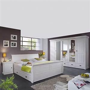Komplett schlafzimmer im landhausstil janeira i wohnende for Landhausstil schlafzimmer
