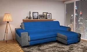 Housse Assise Canapé : housse de canap d 39 angle groupon shopping ~ Melissatoandfro.com Idées de Décoration