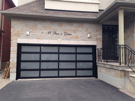 frosted glass garage door modern aluminum glass garage door with frosted door lites