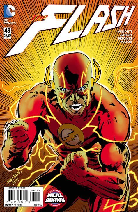 flash  neal adams cover fresh comics