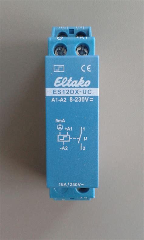 eltako es12dx uc elektromaterial g 252 nstig kaufen auf temo elektro de eltako stromstossschalter elektronisch