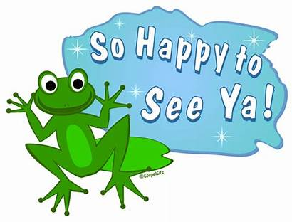 Clip Clipart Nice Happy Frog There Ya