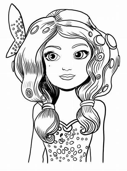 Mia Coloring Pages Unicorn Printable Cartoon Disney