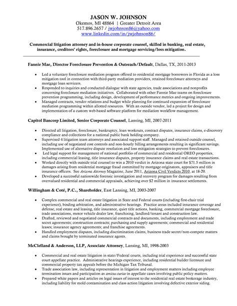 Litigation Attorney Resume Objective Sidemcicekcom