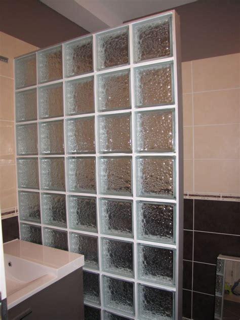 pose de verre pose brique de verre salle de bain evtod