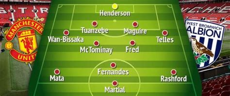 How Manchester United should line up vs West Brom in ...
