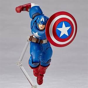 90 days to better revoltech captain america action figure