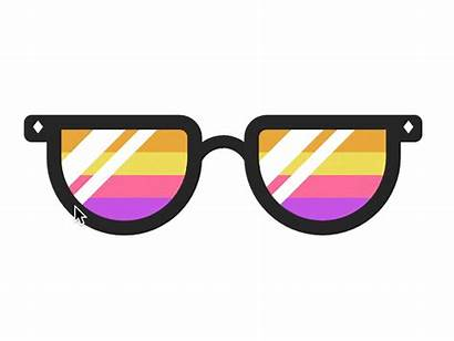 Sunnies Sunglasses Rainbow Gifs National Animated Css