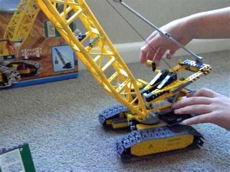 Review Of Lego City Crawler Crane 7632 Youtube