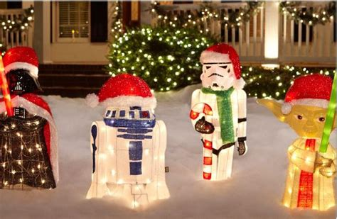 star wars homemade lawn these are the droids you re looking for this the gadgeteer