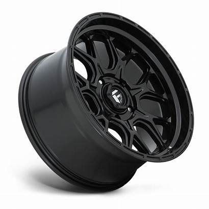 Tech D670 Wheel Wheels Matte Fuel Lug