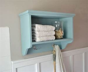 bathroom shelf with towel hooks home conceptor With shelf with hooks for bathroom