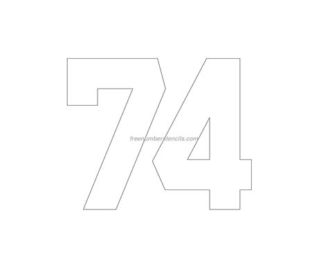 hockey  number stencil freenumberstencilscom