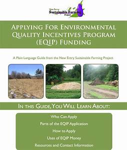 Applying For Environmental Quality Incentives Program