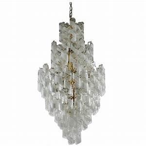 Murano Glass Chandelier Modern : monumental mid century italian modern mazzega murano spiral glass chandelier for sale at 1stdibs ~ Sanjose-hotels-ca.com Haus und Dekorationen