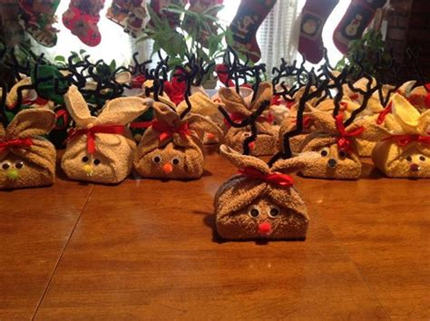 reindeer soap gifts    local nursing home