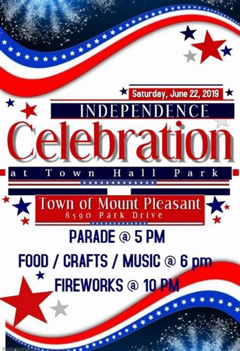 Kick off the Fourth of July season with Mount Pleasant ...