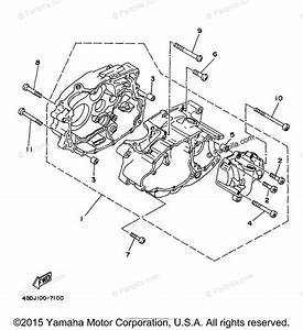 Yamaha Atv 1998 Oem Parts Diagram For Crankcase