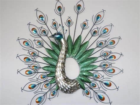 Home Decor Peacock: Elegant Home Decor Peacock Feather Wall Sticker