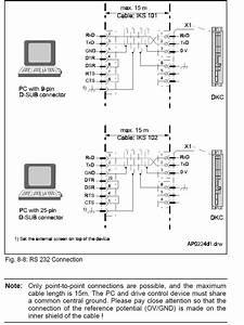 Rs 232 Wiring Diagram Help   Plc