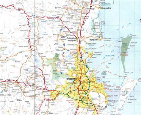 map  brisbane mapsofnet