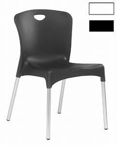 Chaise Blanche Plastique : chaise coque blanche en plastique albi ~ Teatrodelosmanantiales.com Idées de Décoration