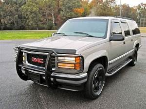 Sell Used 99 Gmc Suburban 4x4 4wd Slt Hunter Special Brush