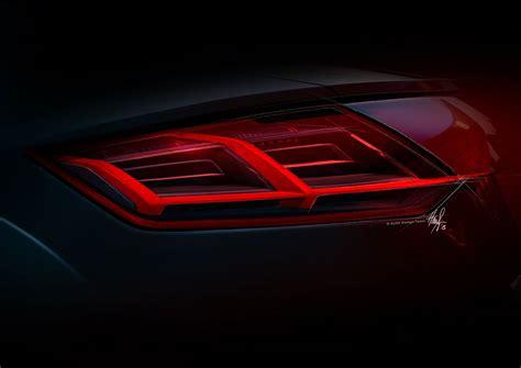 audi tt tail lamp design sketch car body design